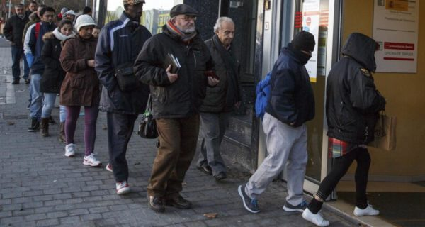 Euro zone unemployment unexpectedly falls to 10-year low