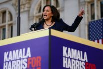Kamala Harris launches White House bid, hits Trump's 'medieval' wall