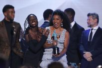 'Black Panther' takes top SAG awards prize, elevating Oscar chances