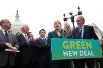 Democrats float 'Green New Deal' to end fossil fuel era