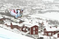 Ribs hurting, but Vonn has another gear left for downhill