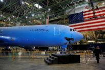 U.S. Air Force grounds Boeing's KC-46 tankers over debris issue