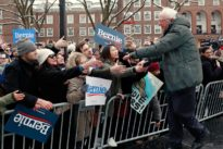 Bernie Sanders gets personal as he hits the 2020 campaign trail
