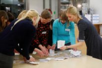 Estonian center-right opposition wins elections