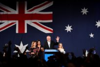 Australia's conservative coalition secures parliamentary majority