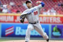 MLB roundup: Dodgers' Ryu runs scoreless streak to 31 innings