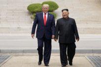 Democratic candidates dump on Trump over North Korea meeting