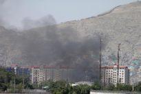 Gun battle rages in Afghan capital after Taliban blast injures 100