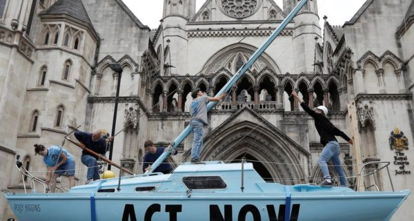 Climate activists disrupt British cities with 'summer uprising'