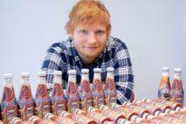 Sheeran design Heinz Ketchup bottle sells for 1,500 pounds