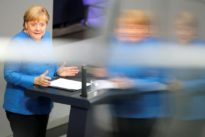 Merkel: U.S.-China trade conflict hitting Germany