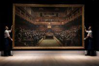 Banksy's chimp-depicting 'Devolved Parliament' sells for over $12 million