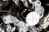 U.S. astronauts embark on the first all-female spacewalk