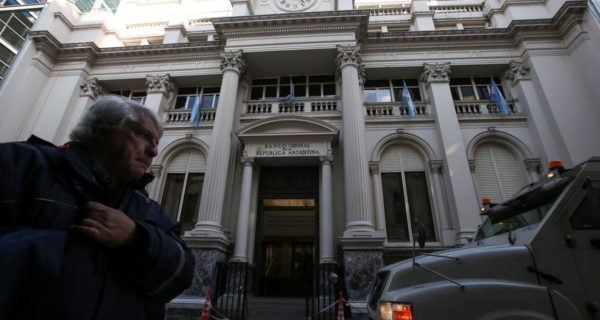 Argentine central bank cuts dollar purchase limit sharply as forex reserves tumble