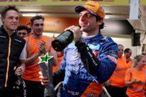 McLaren celebrate first top-three result since 2014