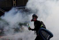 Hong Kong police seal off university, raising fears of crackdown