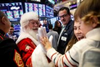 Wall Street Week Ahead: Conditions may be set for Santa Claus rally
