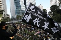 Hong Kong gears up for a week of lunchtime protests