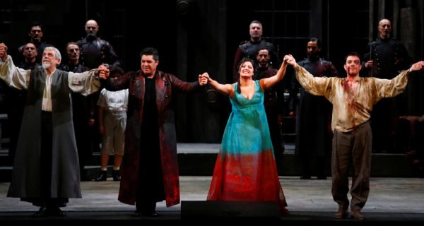 'Tosca' with a touch of cinema enthrals Milan's La Scala at opening night