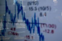 Asian shares buoyed by strong U.S. job data, China worry caps gains