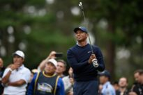 Woods leads from front as U.S. wins Presidents Cup