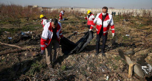 Ukraine considering several possibilities behind Iran plane crash