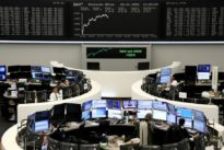 European shares hit record high as Middle East, trade tensions ease