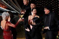 South Korea's 'Parasite' beats Hollywood greats to make Oscar history