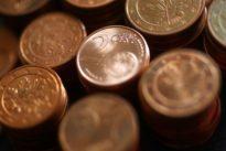 Euro struggles near three-year low as traders fret about economic slowdown