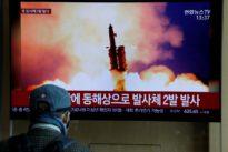 North Korea fires two short-range missiles into eastern sea, South Korea says