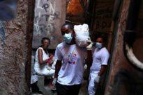 Brazilian rapper warns of coronavirus danger in Brazil's slums
