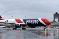 New England Patriots team plane transporting 1.7 million masks for coronavirus relief