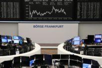 Stocks jump on virus slowdown hopes, but oil slips on oversupply