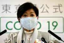 Tokyo governor Koike, a PM Abe rival, takes tough stance on coronavirus
