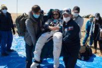 Coronavirus forces detour for homecoming astronauts