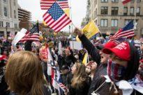 As protesters decry U.S. coronavirus lockdown, officials urge caution
