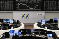 European shares tumble on oil crash, dour earnings