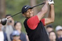 Woods promises trash talking during charity match but within limits