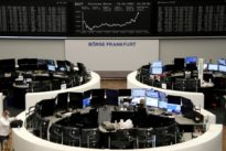 European shares rise on airline surge, upbeat earnings