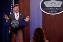 China, Russia take advantage of virus emergency, U.S defense secretary says