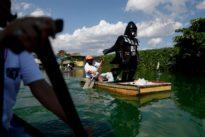 'Darth Vader' enforces lockdown in Philippine village
