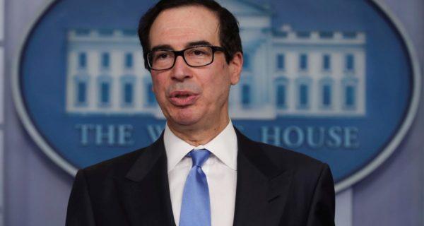 U.S. Treasury's Mnuchin says Trump eyeing restaurant tax changes, travel boost