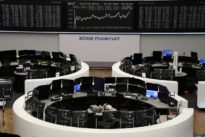 Defensives, upbeat earnings lift European shares