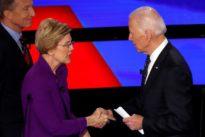 As Biden crafts U.S. coronavirus response proposals, Warren has his ear