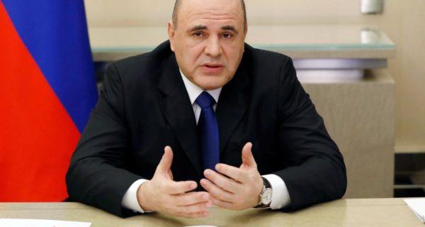 Kremlin says Prime Minister Mishustin back to work