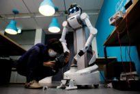 Robot built for Japan's aging workforce finds coronavirus role