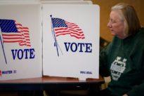 Georgia Democrats vote on Senate challenger as five U.S. states hold primaries