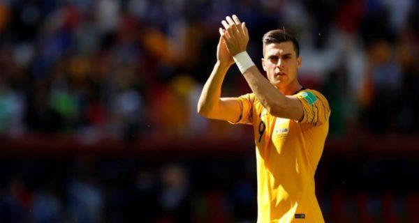 Australia striker Juric tests positive for COVID-19