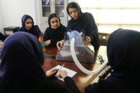 Afghan all-girls robotics team designs low-cost ventilator to treat coronavirus patients