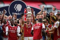 Aubameyang double helps Arsenal beat Chelsea for 14th FA Cup trophy